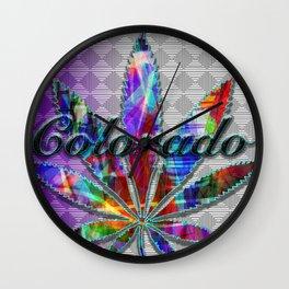 Colorado's Finest Wall Clock