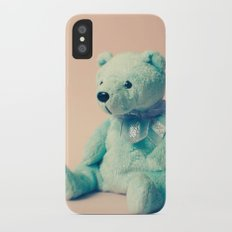 Teddy Bear iPhone X Slim Case