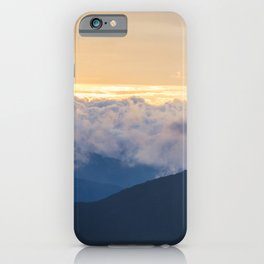 Sunrise in North Georgia Mountains 2 iPhone Case