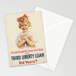 Vintage poster - Third Liberty Loan Stationery Cards