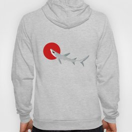 White Tip Reef Shark Hoody