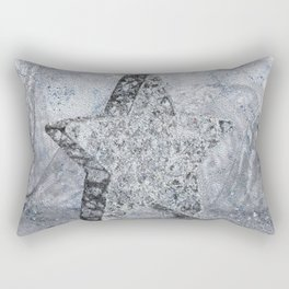SilverStar ornament  Rectangular Pillow