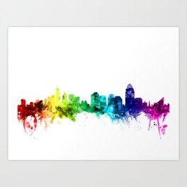 Cincinnati Ohio Skyline Art Print