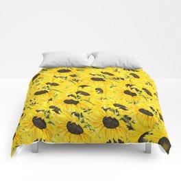 sunflower pattern 2018 1 Comforters