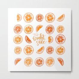 Juicy Citrus - Blood Orange Colorway Metal Print