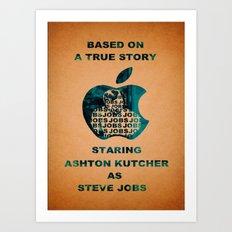 JOBS Movie Poster Art Print