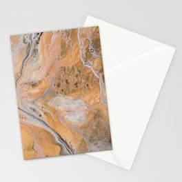 Opulence Acrylic Pour 2158 Stationery Cards