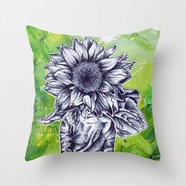 The Wallflower Throw Pillow