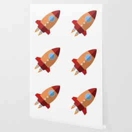 Rocket Ship Wallpaper