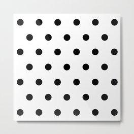 Poke-a-Dot Metal Print