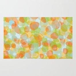 Pebbles Orange Rug