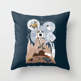 Tribute to Wall-e Throw Pillow