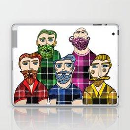 Hipster Lumberjacks Laptop & iPad Skin
