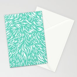 blue pattern home decor trend Stationery Cards