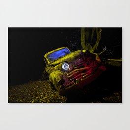 50's Opel Olympia Canvas Print