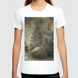 Log Cabin in the Woods T-shirt