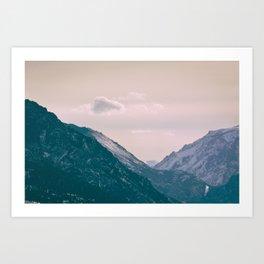Across the Valleys Art Print