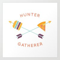 Hunter Gatherer Art Print