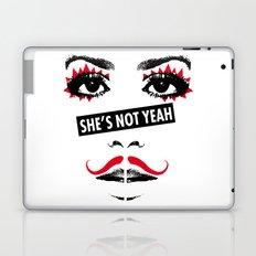 SHE'S NOT YEAH 05 Laptop & iPad Skin