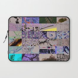 The World From my Computer  Laptop Sleeve