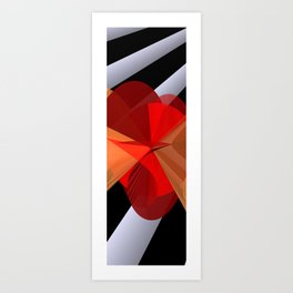 mathematical elegance Art Print