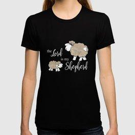 Christian T-Shirt - The Lord is my Shepherd - Psalm 23 T-shirt
