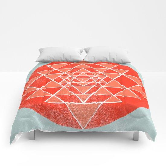 Sri Chakra  Comforters