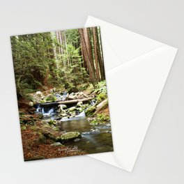 Crystal Stream Stationery Cards