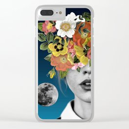 Flower Girl 3 Clear iPhone Case