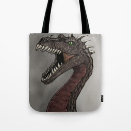 Big brown dragon Tote Bag
