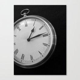 Fifteen Seconds Canvas Print