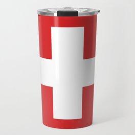 Switzerland Flag Travel Mug