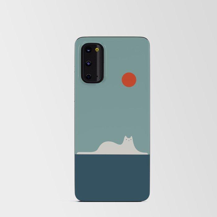 Cat Landscape 95 Android Card Case