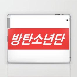 BTS Hangul Bangtan Boys red Laptop & iPad Skin