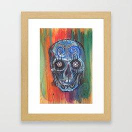 Sugah Skull  Framed Art Print