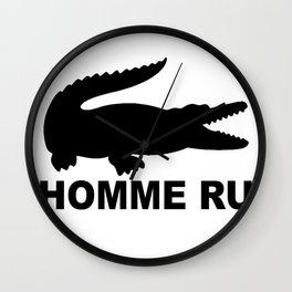 L'Homme Run Wall Clock
