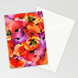 Poppies for Fun Stationery Cards