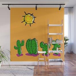 Cacti In The Arizona Sun 2 Wall Mural