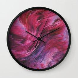 Reiterate VII Wall Clock