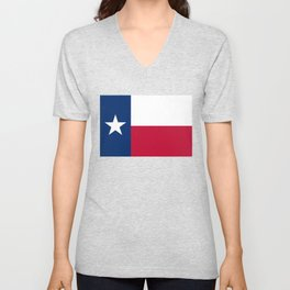 Texan State flag Unisex V-Neck