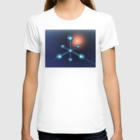 technology T-shirts featuring Technology In Space by Phil Perkins