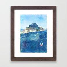 The Niemon Island Framed Art Print