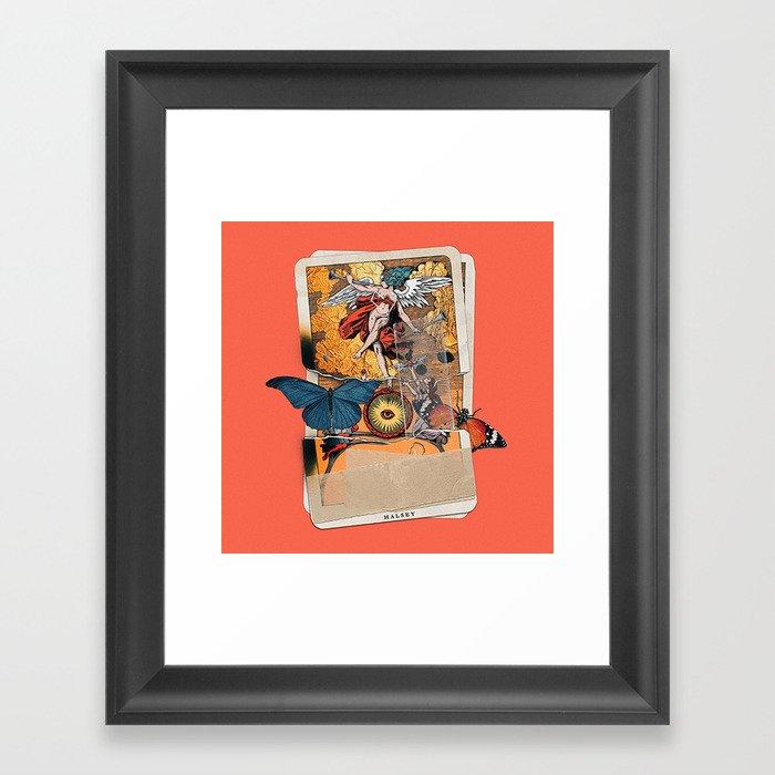 Tarot card - Bad at Love Gerahmter Kunstdruck