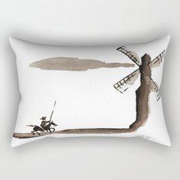 Don Quixote de la Mancha Rectangular Pillow