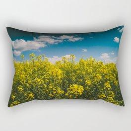 Summer Gold Rectangular Pillow
