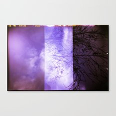 Lomographic Sky 2 Canvas Print