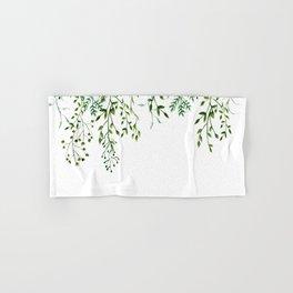 Watercolor Vines Hand & Bath Towel
