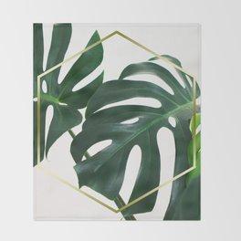 LUXE x Plant Life Throw Blanket