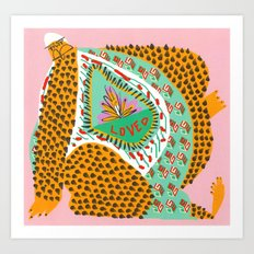 Still Loved Art Print