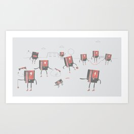 Go Play Outside Art Print